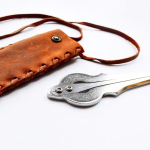 jew's harp Phantom with leather cover